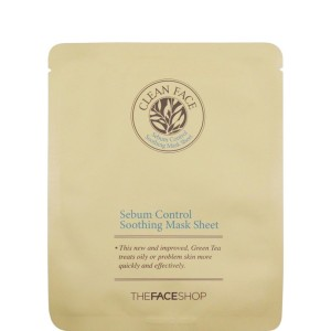 the-face-shop-clean-face-sebum-control-soothing-mask-sheet