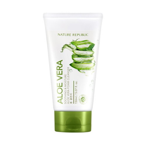 nature-republic-soothing-moisture-aloe-vera-foam-cleanser
